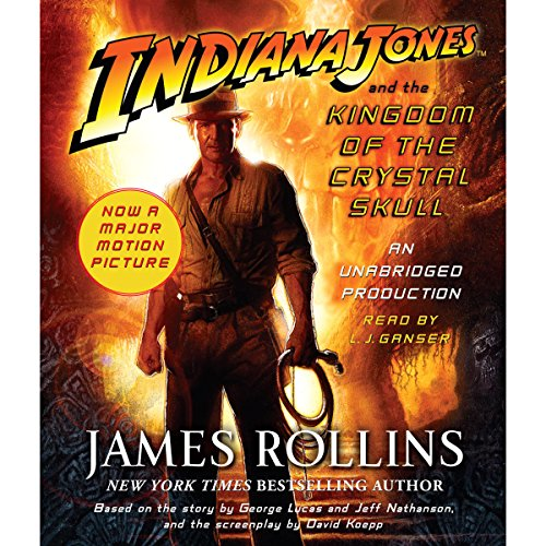 Indiana Jones and the Kingdom of the Crystal Skull  cover art