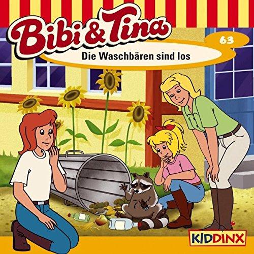 Die Waschbären sind los audiobook cover art