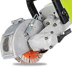 4 kw Máquina Ranuradora de Pared Fresadora de Pared Cortadora de Ranura Eléctrica Máquina Perforadora de Pared de Corte Ranuradora de Sierra Circular con 5 Hojas de Sierra