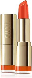 Milani Color Statement Lipstick - Orange Gina, Cruelty-Free Nourishing Lip Stick in Vibrant Shades, Orange Lipstick, 0.14 Ounce