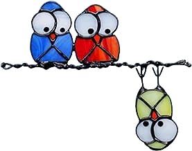 Vogelstickers Voor Ramen Vogels Sticker - 3D Glasschilderij Voyeur Vogel Stickers Muurstickers Slaapkamer Woonkamer Kantoo...