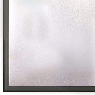 Rabbitgoo 水で貼れる目隠しシート (すりガラス 44.5 x 200cm)