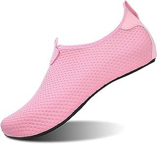 JOINFREE Women Mens Water Shoes Water Socks Ladies Aqua Shoes Beach Footwear Boys Pool Shoes Mens Surfing Swim Water Sport...