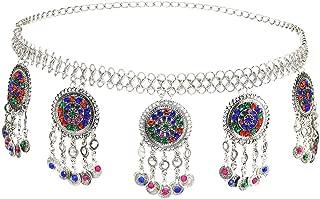 Women's Belly Waist Chain - Dancing Belt Beach Belts Bohemian Body Chain Coin Tassel Belt Belly Jewelry Women Accessories
