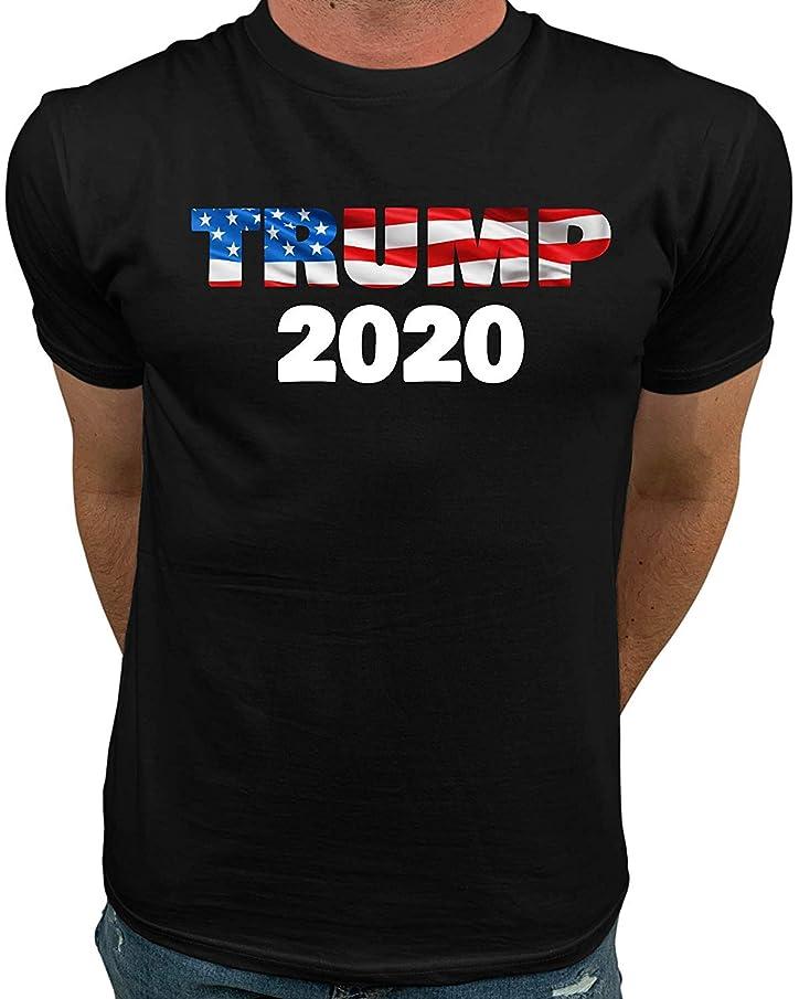GoodTstore Waving Trump Shirt 2020   Pro Trump Shirts for Men Women