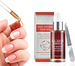 Ownest Nail Repair Essence, Finger & Toenail Repair Treatment Solution, Restores Healthy Appearance of Discolored & Damaged Nails Nail Repair Essence-12ml