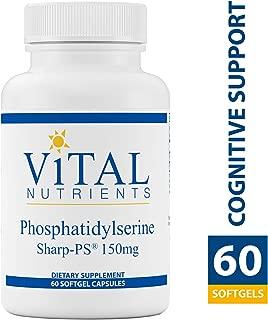 Vital Nutrients - Phosphatidylserine - Promotes Cognitive Support - 150 mg - 60 Softgel Capsules per Bottle