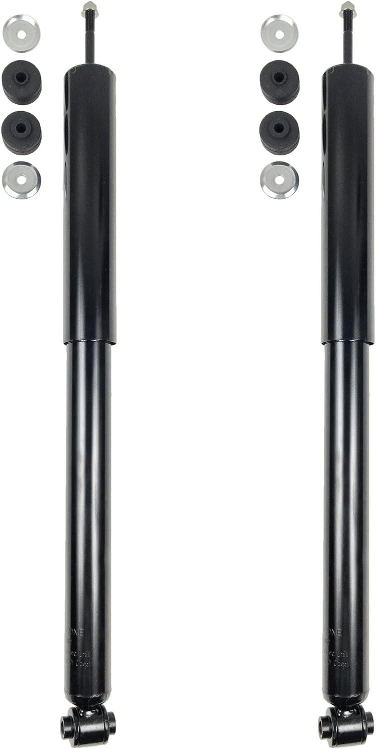 バーゲンセール Puermto 2pcs Rear 全店販売中 Right+Left Side Strut Gas Shock wit Compatible