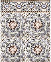 Casa Moro Marokkaanse wandtegels Tanger 20x20 cm kleurrijk met mozaïekpatroon   Oosterse wandtegels voor keuken badkamer h...