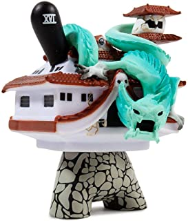 Kidrobot Arcane Divination: The Lost Cards Dunny - The Tower by JPK