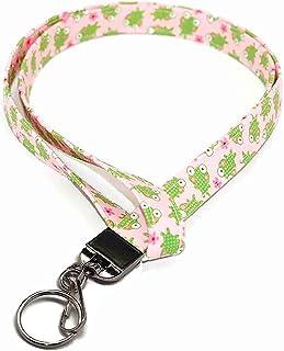 neck lanyard badge holder Pink job gift keychain lanyard statement lanyard graduation gift job gift beaded paracord id badge lanyard