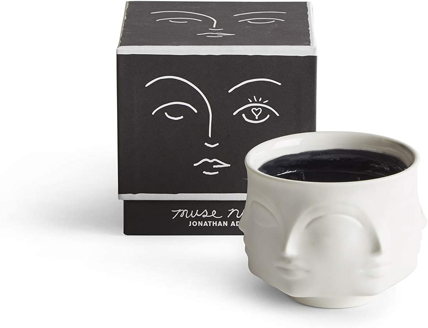 Jonathan Adler Muse black Scented Candle, Black