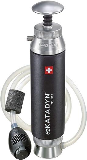 Katadyn Pocket Water Filter, Black, 10 (2010000)