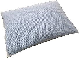 アイリスプラザ 枕 日本製 高さ調節可 通気性抜群 ハードパイプ ほこりが出にくい 頭・首をしっかりサポート 丸洗い可 ムレにくい メッシュ Sサイズ ブルー