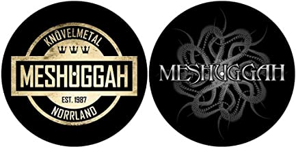 Meshuggah 'Crest/Spine' Turntable Slipmat Set