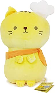 Yamani Japanese Nyan Cafe Super Soft & Adorable Bread-Making Stuffed Animal Plush, 15