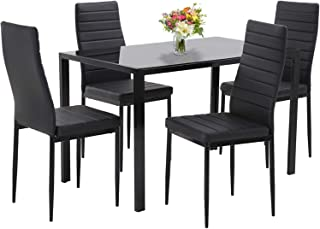Dining Table Set Dining Room Table Set 5-Piece Kitchen...