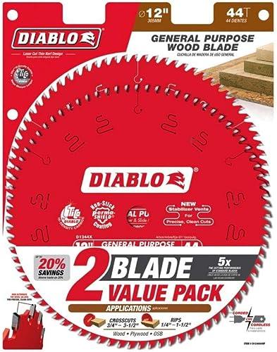 2021 Freud-Diablo 12 CSB Value popular Pack, Multi, outlet sale One Size (D124444VP) outlet online sale