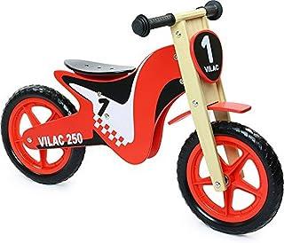 VILAC - Vélo enfants - Moto Draisienne, Vélo En Bois Sans Pédales - 1004