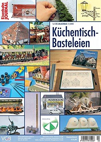 Küchentisch-Basteleien - Eisenbahn Journal - 1 x 1 des Anlagenbaus 2-2018