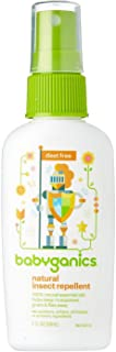 BabyGanics, Natural Insect Repellent, 天然の虫よけ 2 fl oz (59 ml)