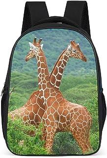Mochila causal de jirafa forestal para adolescentes y adultos, bolsas escolares para niños y niñas, regalos para niños