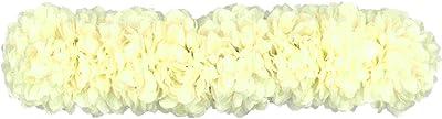 AmberRoze White Jasmine Flower Kondai Maalai for Women