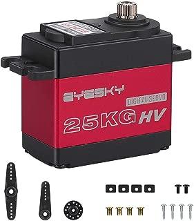 EYESKY 25KG Digital Servo High Torque Full Aluminium Gear Impermeable para RC Modelo DIY (ángulo de control 180 °)