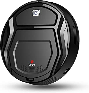 Lefant Robot Vacuums, Automatic Robotic Vacuum Cleaner Small Body,Self-Charging,1500Pa Powerful Suction,High Coverage, Long Life Battery, Clean Pet Hair on Hard Floor and Low Pile Carpet-M200
