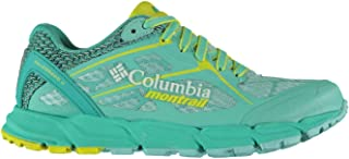 Official Columbia Caldorado Trail Running Shoes Womens Green Fitness Trainers Sneakers