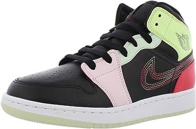 Amazon.com   Nike Air Jordan 1 Mid SE GS Trainers AV5174 Sneakers ...