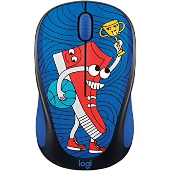 Logitech Doodle Collection M238 Mouse - Optical - Wireless - 3 Button(s) - Sneakerhead