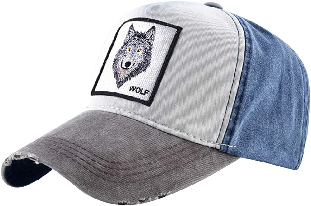 Unisex 2021new shipping free shipping Animal Mail order Embroidered Baseball Caps Patch D Strapback Square