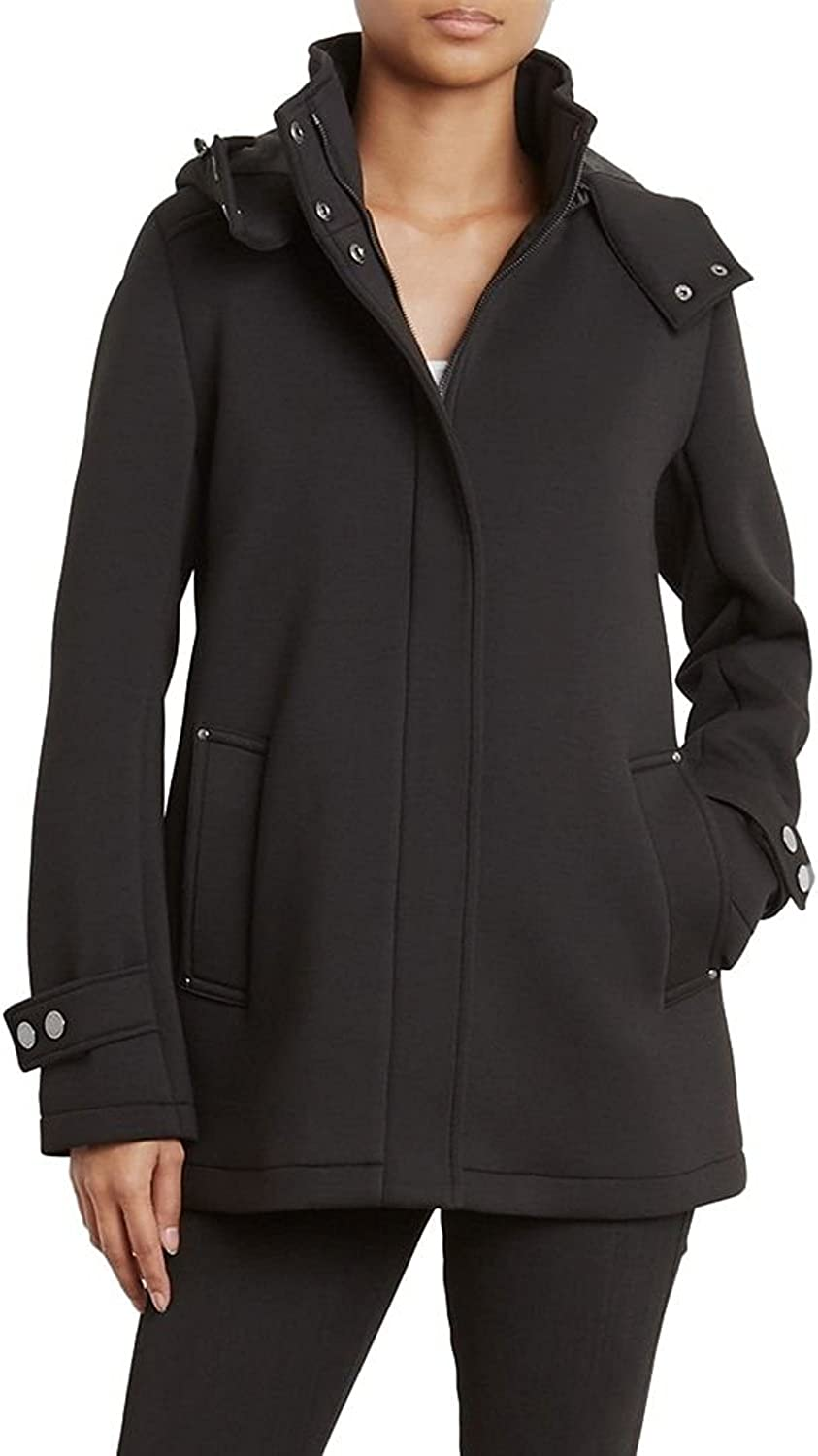 Kenneth Cole New York Women's Softshell Jacket Removable Hood