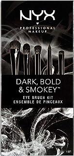 Nyx Dark, Bold & Smoky Eye Brush Kit - 5 Brushes Complete Eye Dressing Set