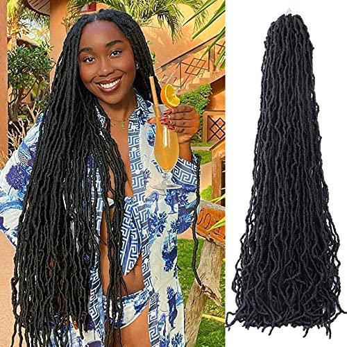36 Inch Soft Locs Crochet Hair Faux Locs...