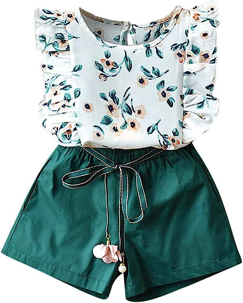 Flashing boy Baby Toddler Girls Arlington Mall Summer Kids Years 2-7 Outfits Fl Translated