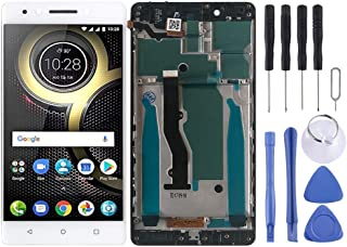 HOUSEHOLD Cell Phones Accessories Maintenance Upkeep Repairs LCD Screen and Digitizer Full Assembly with Frame for Lenovo ...