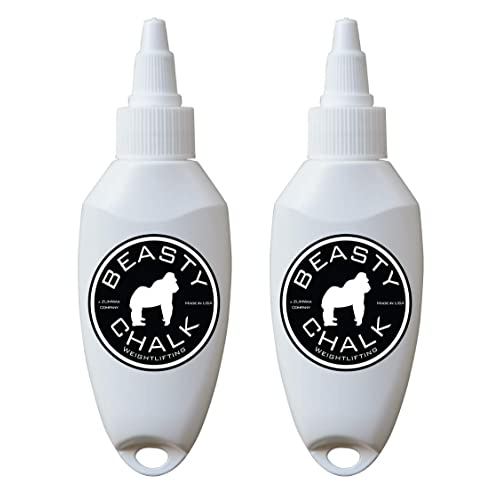 ZUMWax Beasty Chalk - The Worlds Best Liquid Chalk All Sports!!! - Two