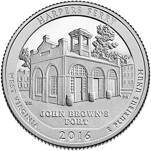 2016 D Bankroll of 40 – Harpers Ferry, WV National Park Quarter Uncirculated