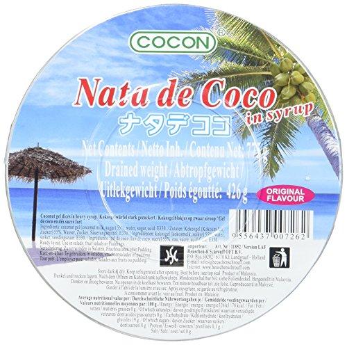 Cocon Dessert Nata De Coco gezuckert Cup, 6er Pack (6 x 775 g)
