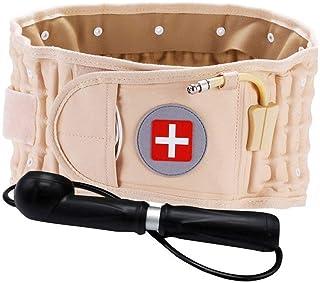 Faja Lumbar Espalda, Cinturón Lumbar Ajustable Soporte para La Parte Inferior De La Espalda, Cinturón De Descompresión Soporte para La Espalda Soporte Lumbar Y Cinturón Extensor