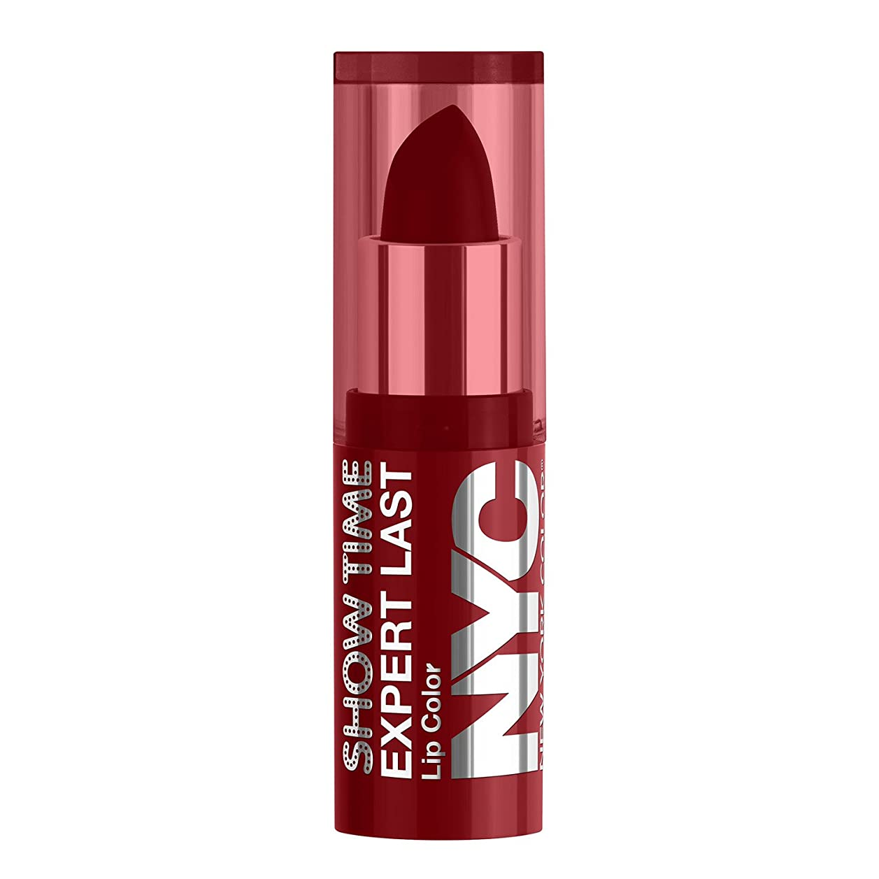 バックアップ勝者フックNYC Expert Last Lip Color Matte - Red Suede (並行輸入品)