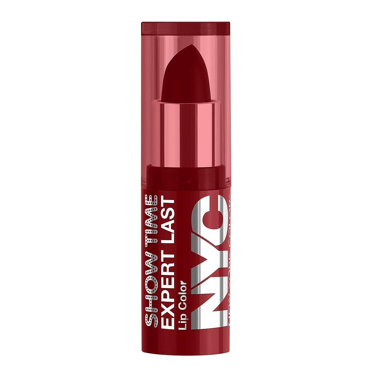 ファランクスかけるインレイNYC Expert Last Lip Color Matte - Red Suede (並行輸入品)
