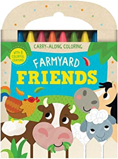 Farmyard Friends: Carry-Along Coloring