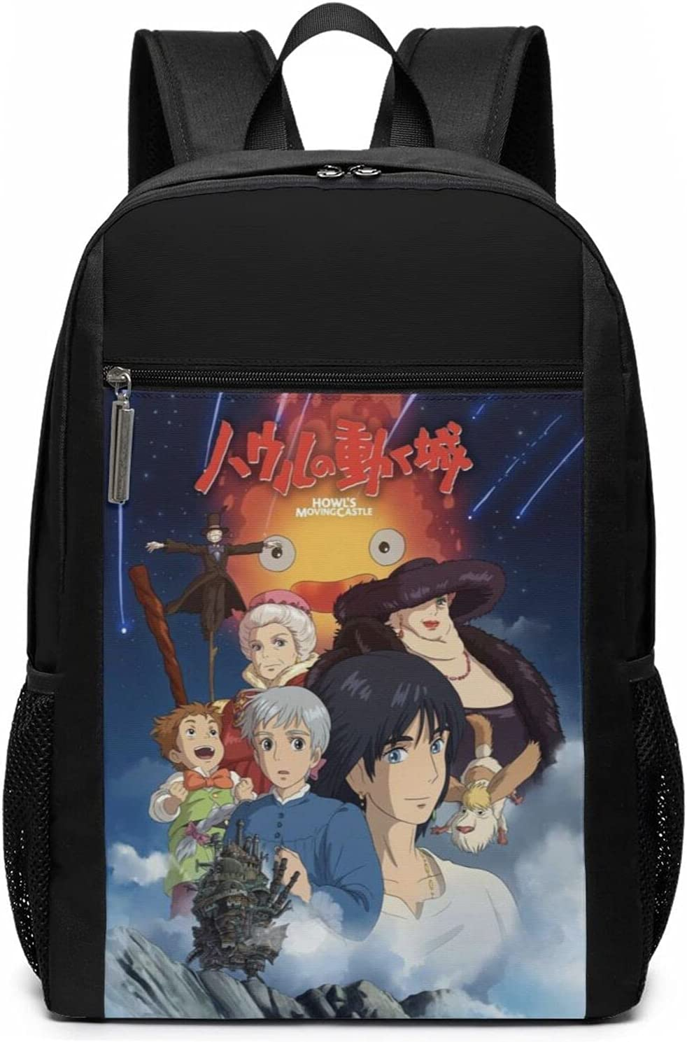 Max 68% National uniform free shipping OFF Howl'S Moving Castle Laptop Backpack Business Trav High Capacity