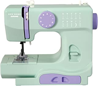 Janome Mystical Mint Basic, Easy-to-Use, 10-Stitch Portable, Compact Sewing Machine with..