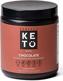 Exogenous Ketones Powder, BHB Beta-Hydroxybutyrate Salts Supplement, Best Fuel for Energy Boost, Mental Performance, Mix i...