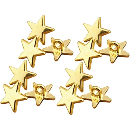2 Holes 13mm Baby Kids Pentagram Star Mixed Resin Button 100Pcs Sewing C8I7