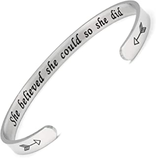 Bracelets Inspirational Gifts for Women, Inspirational...